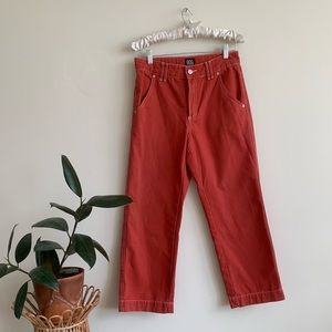 BDG Urban Outfitters Orange Wide Leg Jeans